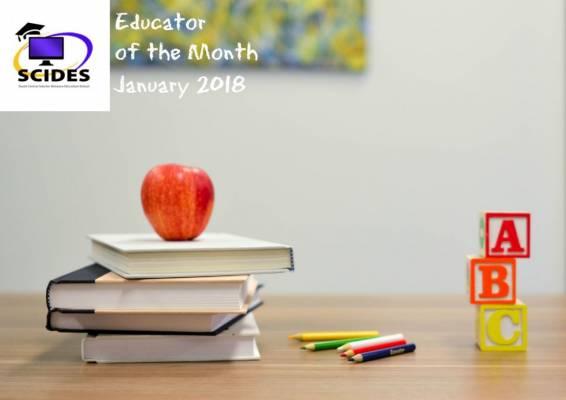 Educator of the Month - Joan Wheeler