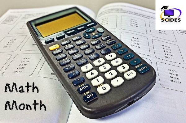 March is Math Month at SCIDES!